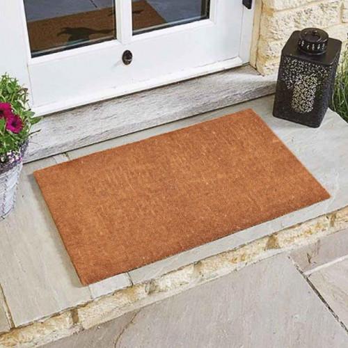 Natural 40mm thick Coir Door Mat
