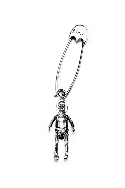 CRACK BABY SAFETY PIN
