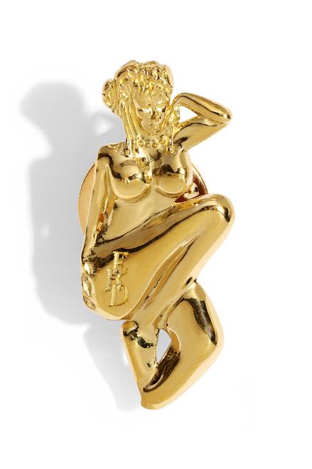 PIN-UP GIRL PIN - GOLD