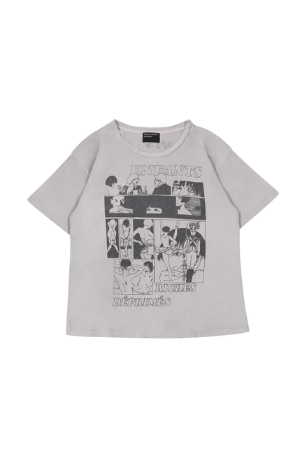 ERD PRIVATE LIFE I T-SHIRT - FADED WHITE