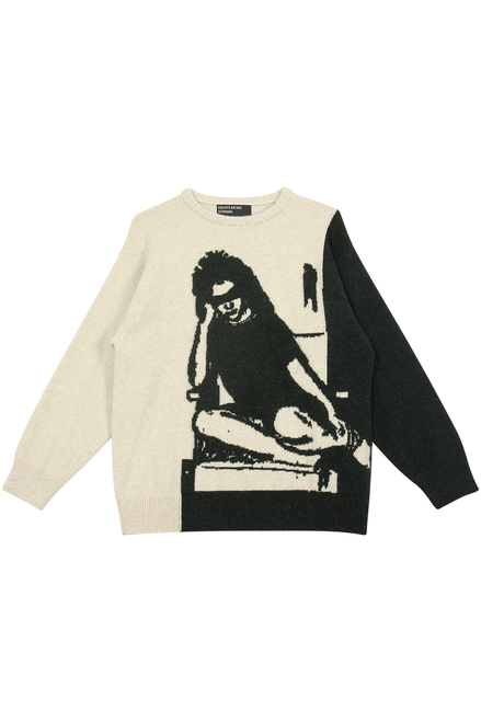 FOR THE LOVE OF IVY SWEATER - CREAM