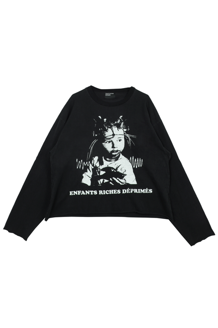 SHOCK THERAPY LONG SLEEVE - FADED BLACK