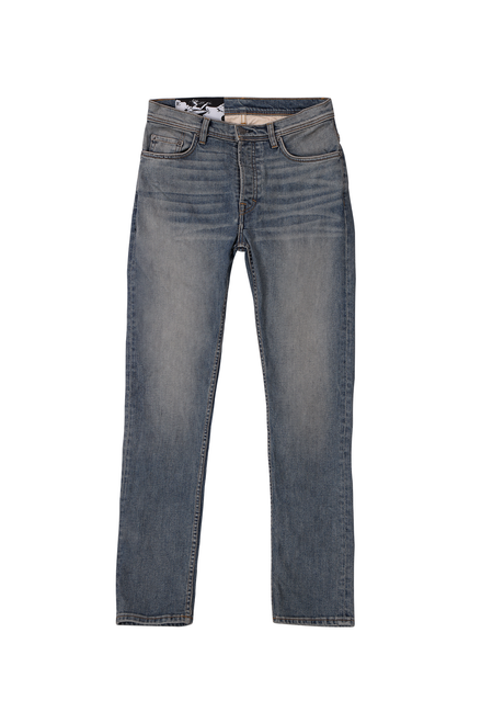 TAPERED JEANS - DIRTY INDIGO