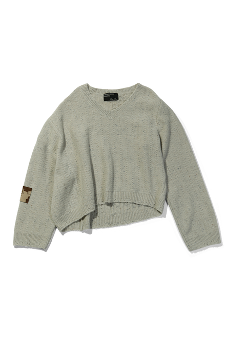 Asymmetrical Sweater - Taupe