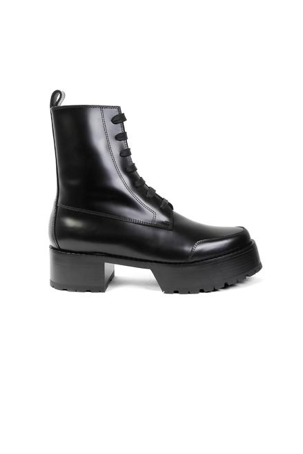 Disco Stomper Boot - Black