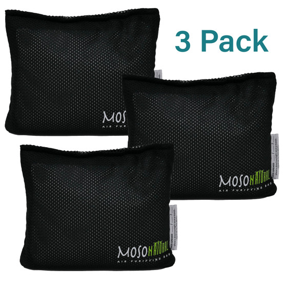 3 Pack - 300g Moso Bag for the Car