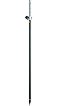 GeoMax Telescopic Carbon Fiber and Aluminum Pole for GNSS