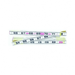 Lufkin Red End 6' Folding Ruler Inches 066