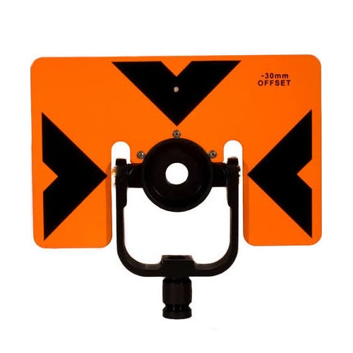 GeoMax Prism Mount, 6x9in, Target, with carrying case