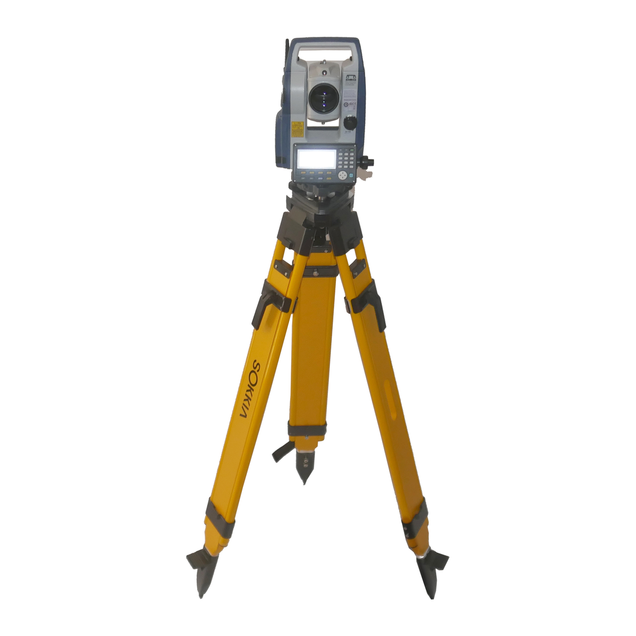 Sokkia SET CX105 Dual Face Reflectorless Total Station Tripod Prism 8' Prism Rod