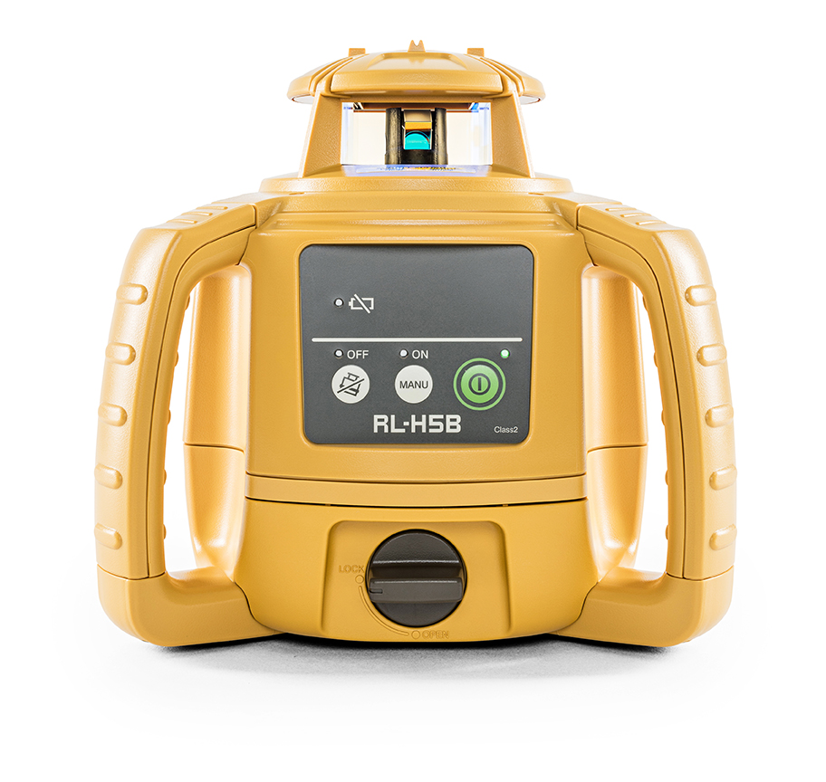 Topcon RL-H5B with Alkaline Battery