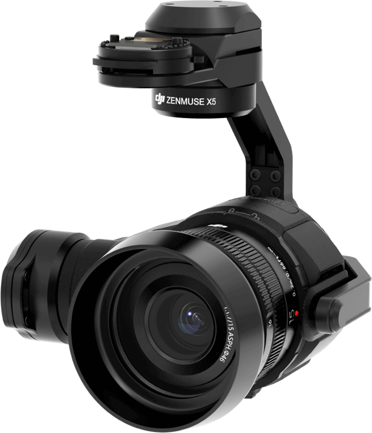 Zenmuse X5 Gimbal and Camera (Lens Excluded)