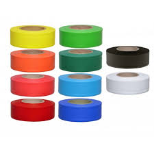 Presco PVC Texas Flagging Tape