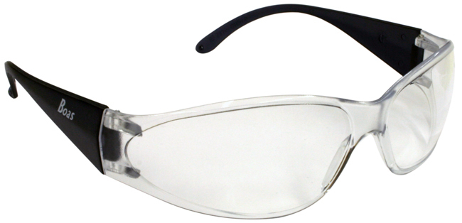 Boas Safety Glasses Clear - 15281