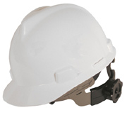 Standard Hard Hat White With Ratchet Suspension - 19361