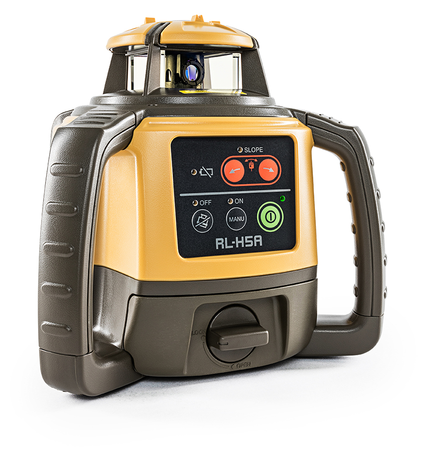 Topcon RL-H5A with Alkaline Battery