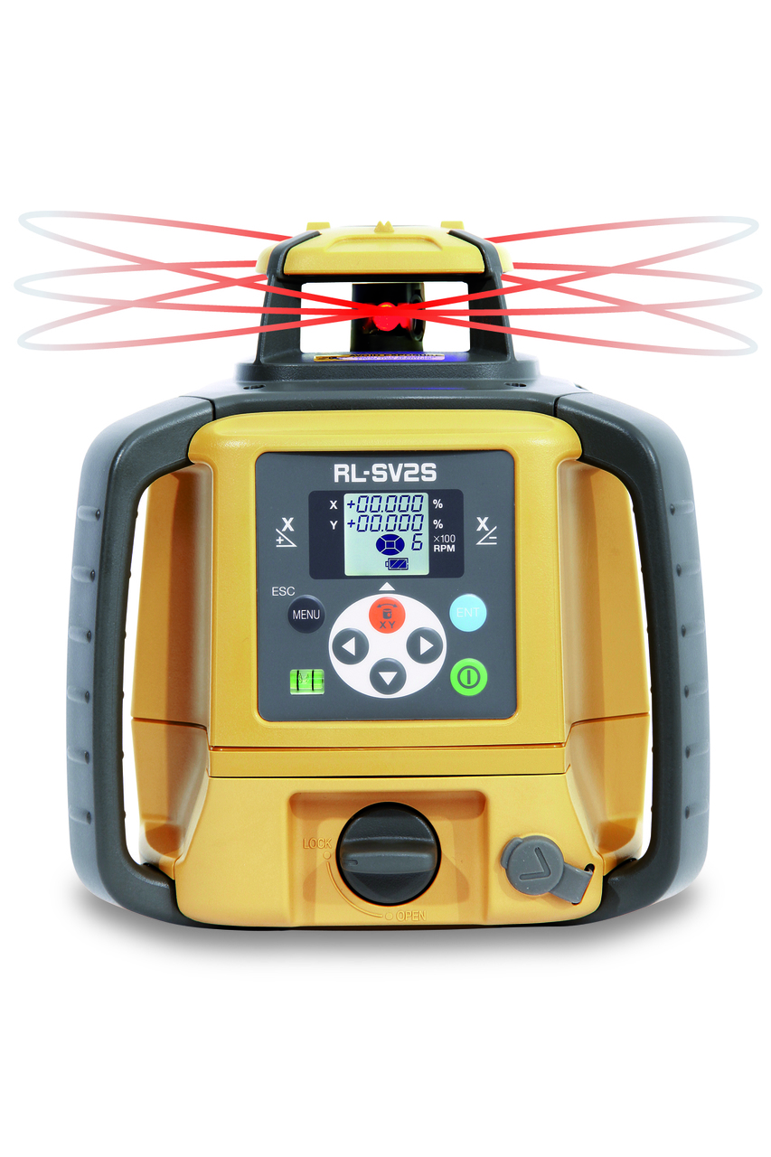 Topcon RL-SV2S Dual Slope Rechargeable Battery