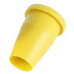 "Model 4000 Survey Cap Markers- Fits 3/4"" Pipe or 1/2"" Rebar - 100 Yellow or Orange"