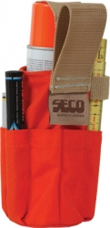 Seco Spray Can Holster With Pockets - 8098-10-ORG