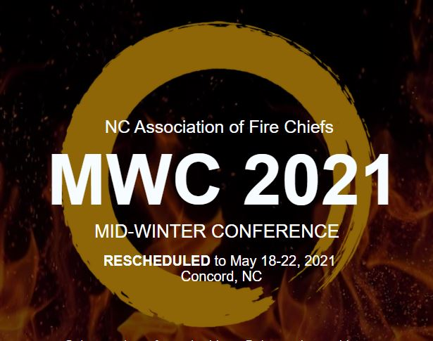 NC Association of Fire Chiefs Mid-Winter Conference (May 18-22)