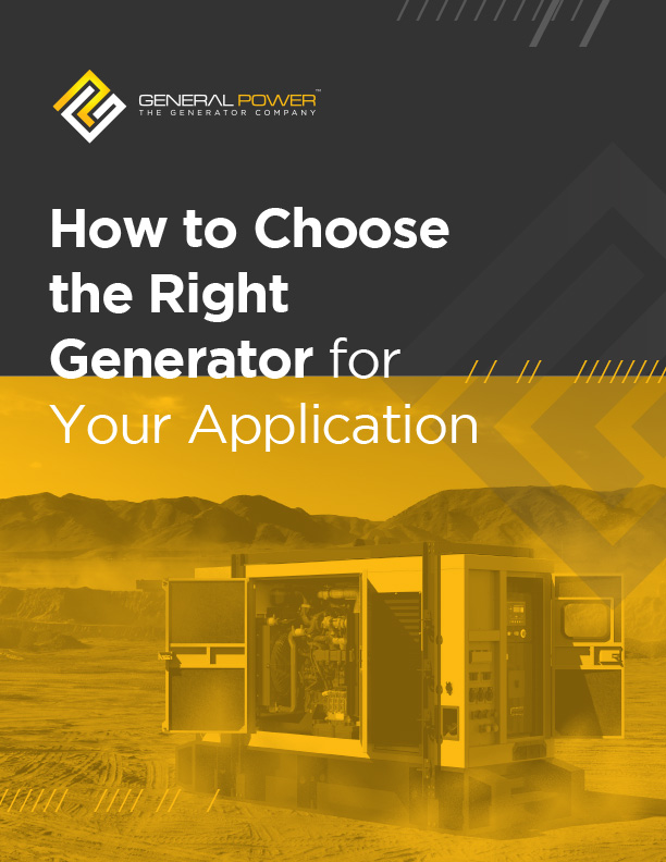 How to Choose the Right Generator for Your Application