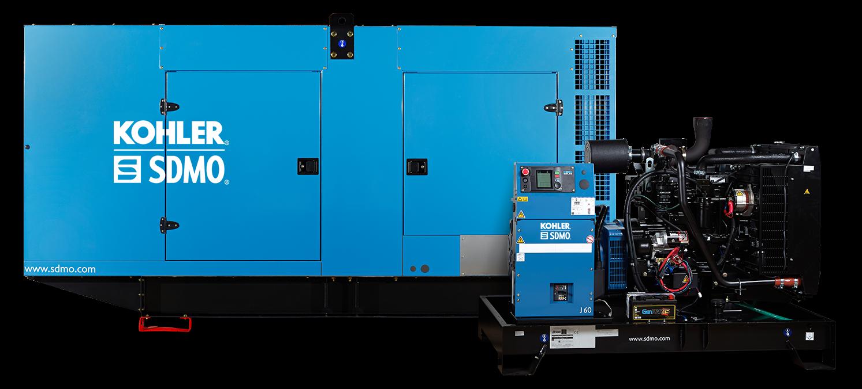 photo of SDMO diesel generators