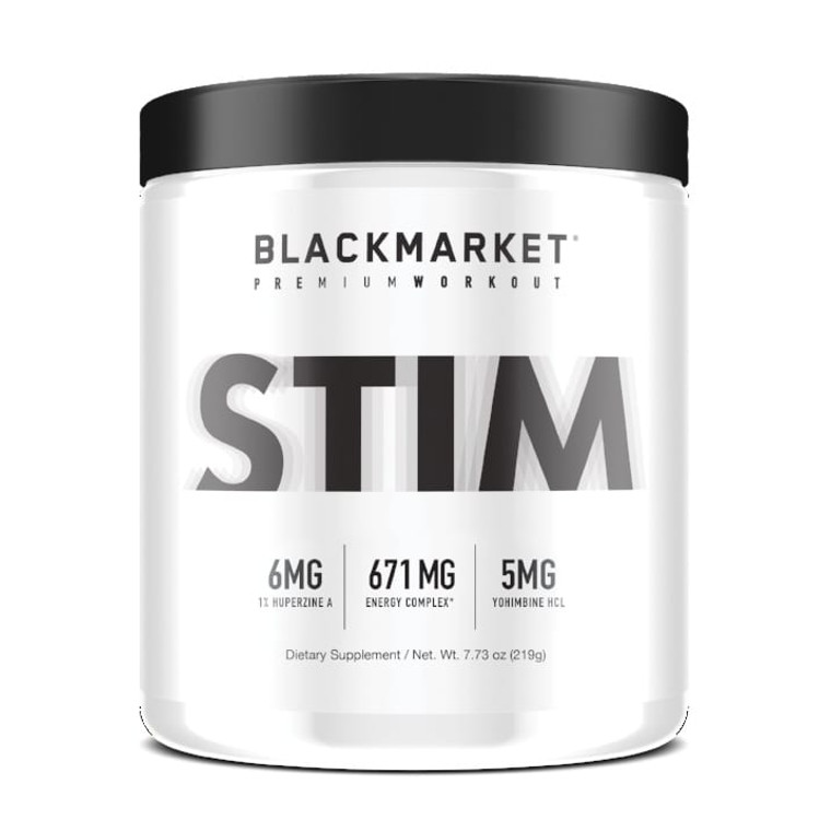 BlackMarket Labs Stim Pre-Workout