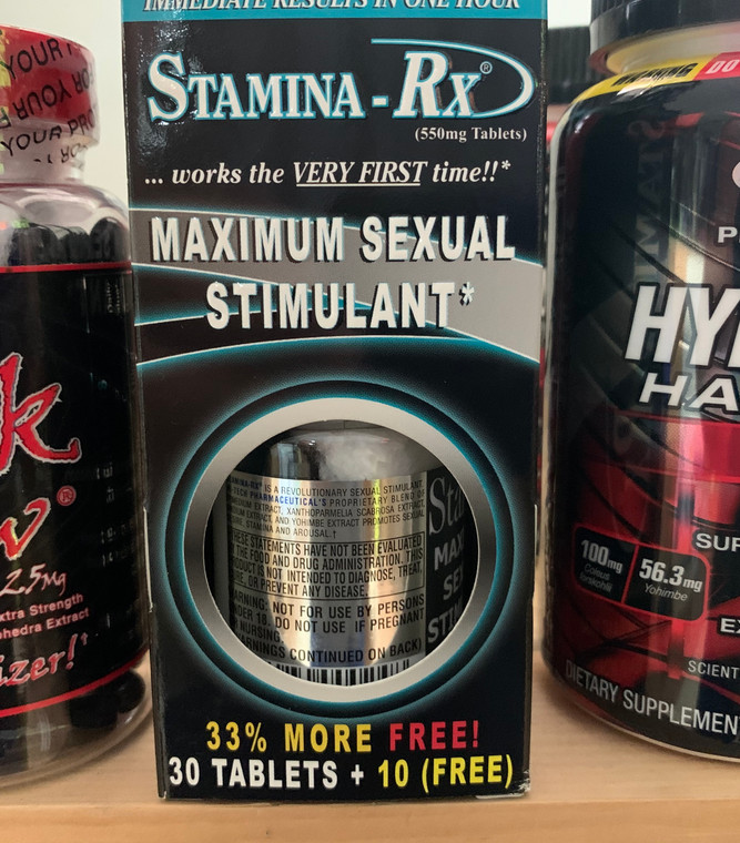 Stamina Rx By Hi-Tech Pharmaceuticals