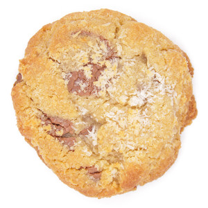 Coconut and Milk Chocolate Cookie