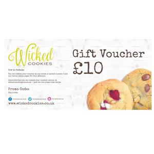 Wicked Cookies Gift Voucher