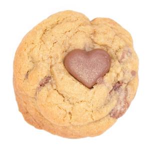 Milk Chocolate Heart Cookie