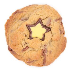 Milk Chocolate Gold Star Cookie