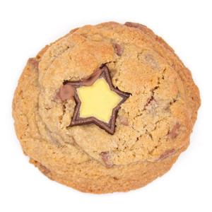 Gluten Free Milk Chocolate Gold Star Cookie