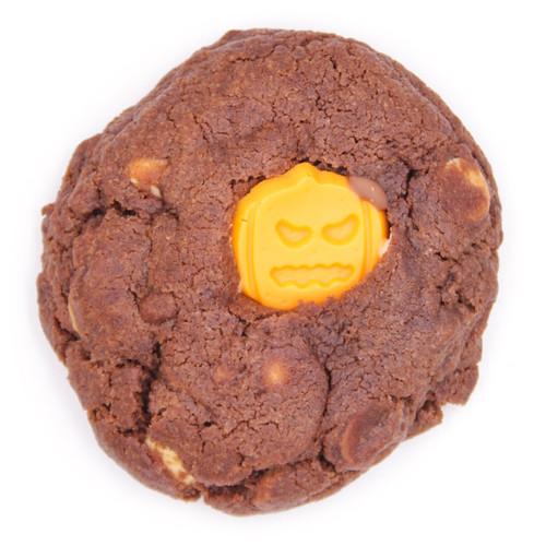 Halloween Triple Chocolate Cookie