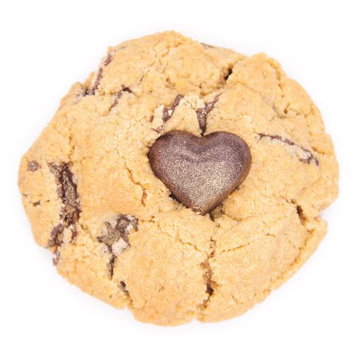 Vegan Gluten Free Heart Chocolate Chunk