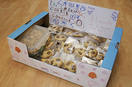 lovely cookie company box