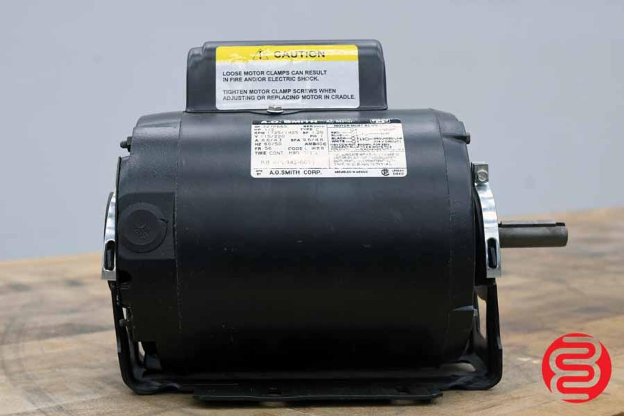 A.O. Smith 1/2 HP Electric Motor 327P665 - 080120103420