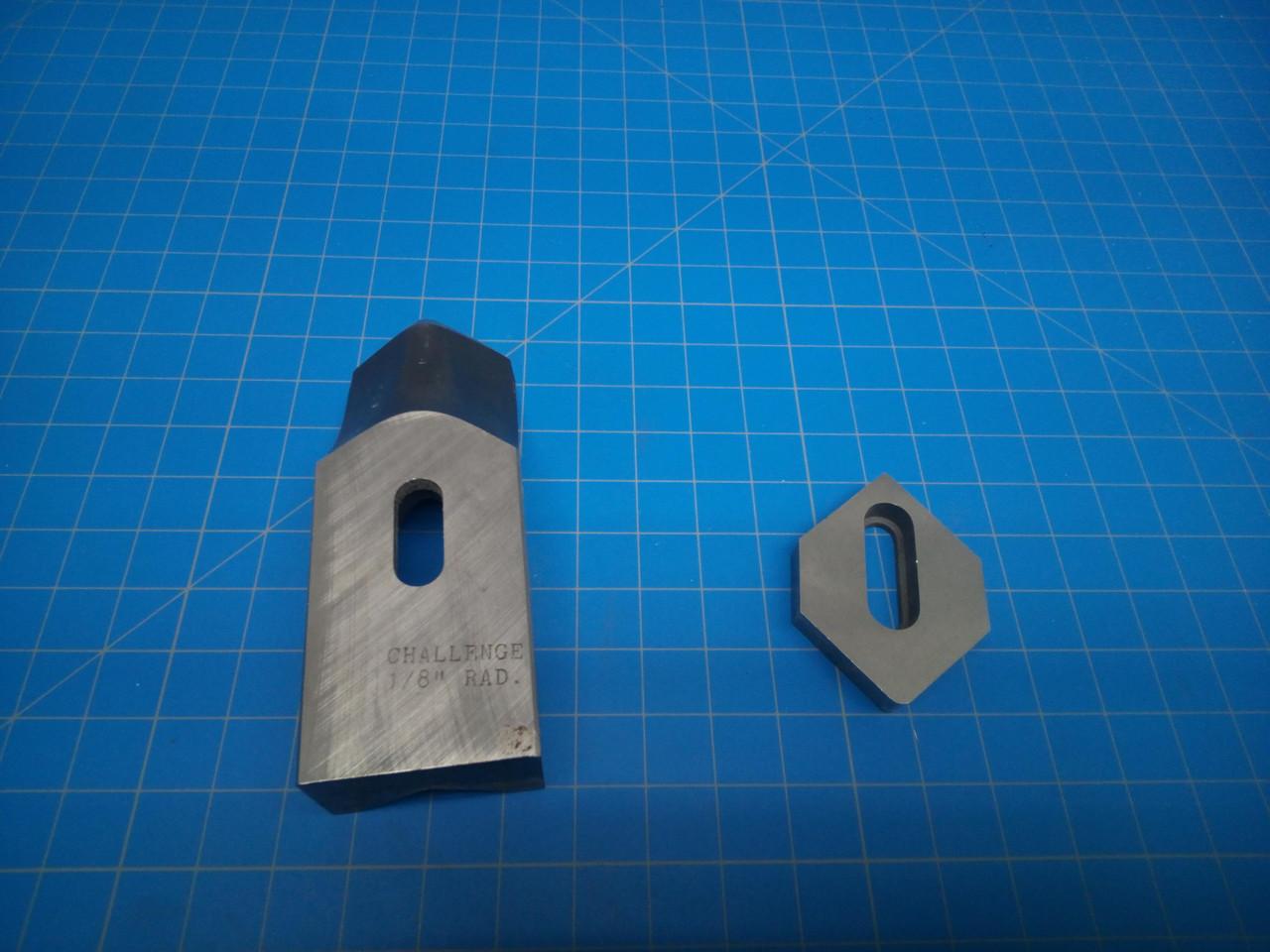 """Challenge Corner Rounder Blade 1/8"""" Radius w/ Die"""