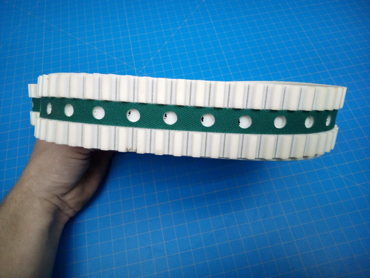 "H&H Vacuum Transport Mail Table 1 5/8"" x 6800mm Belts - P01-000033"