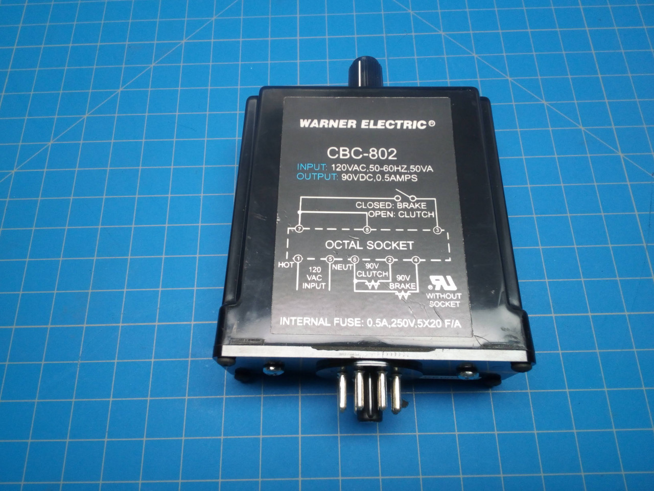 Warner Electric Plug-In Clutch/Brake Control CBC-802 - P01-000073