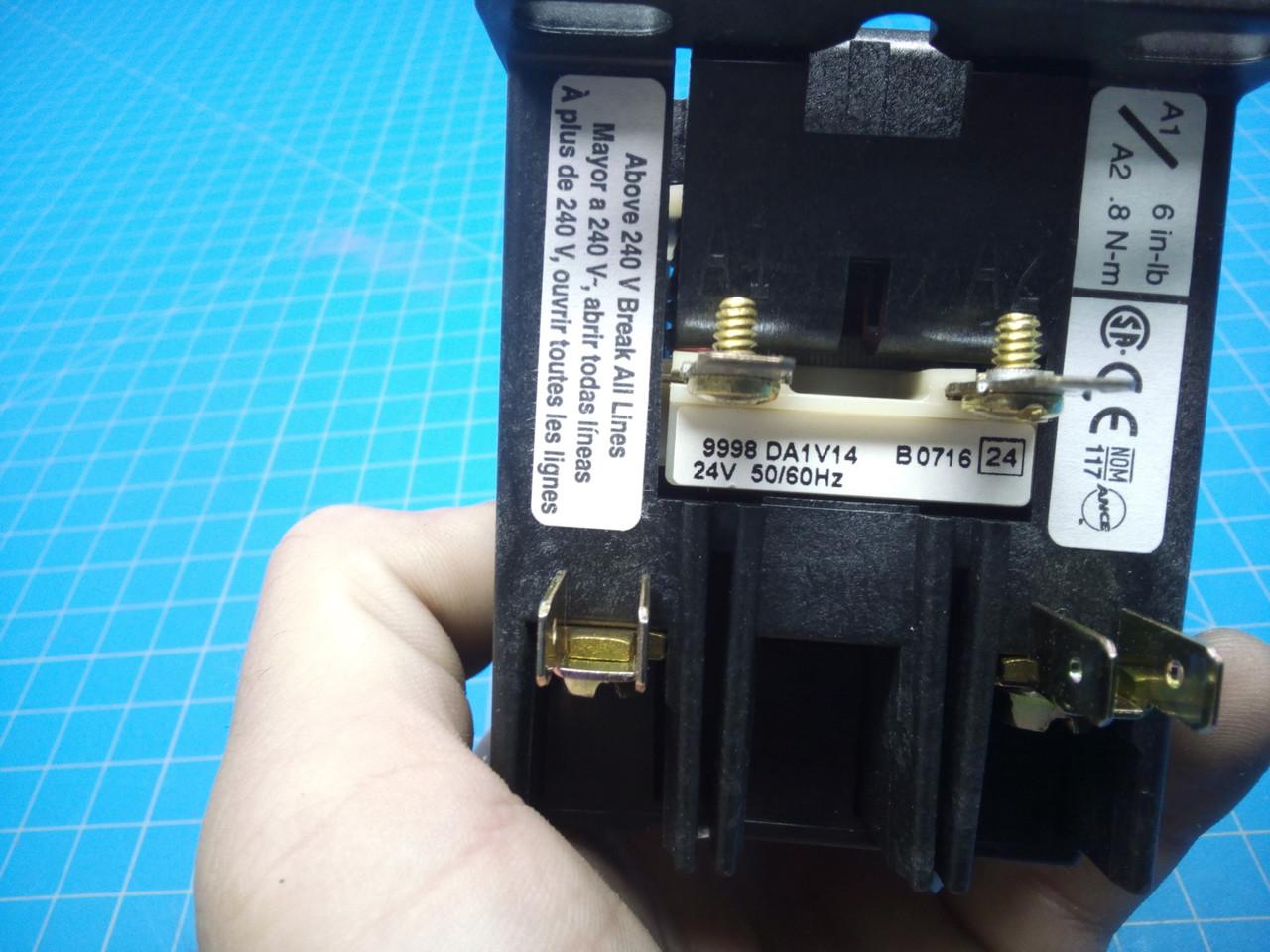 Square D Definite Purpose Contactor 2 Pole 8910DPA12V14 - P01-000096
