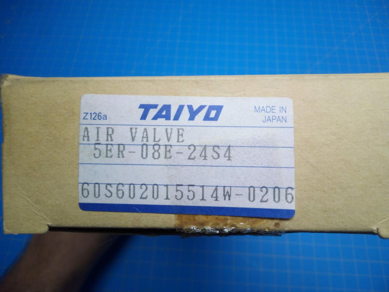 Taiyo / Parker 5ER-08E-24S4 Air Value  - P02-000072