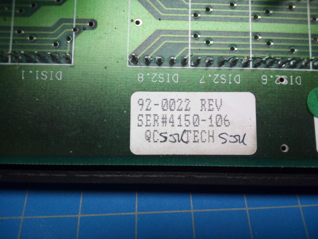Stahl / Baum Display and Control Panel P02-000095