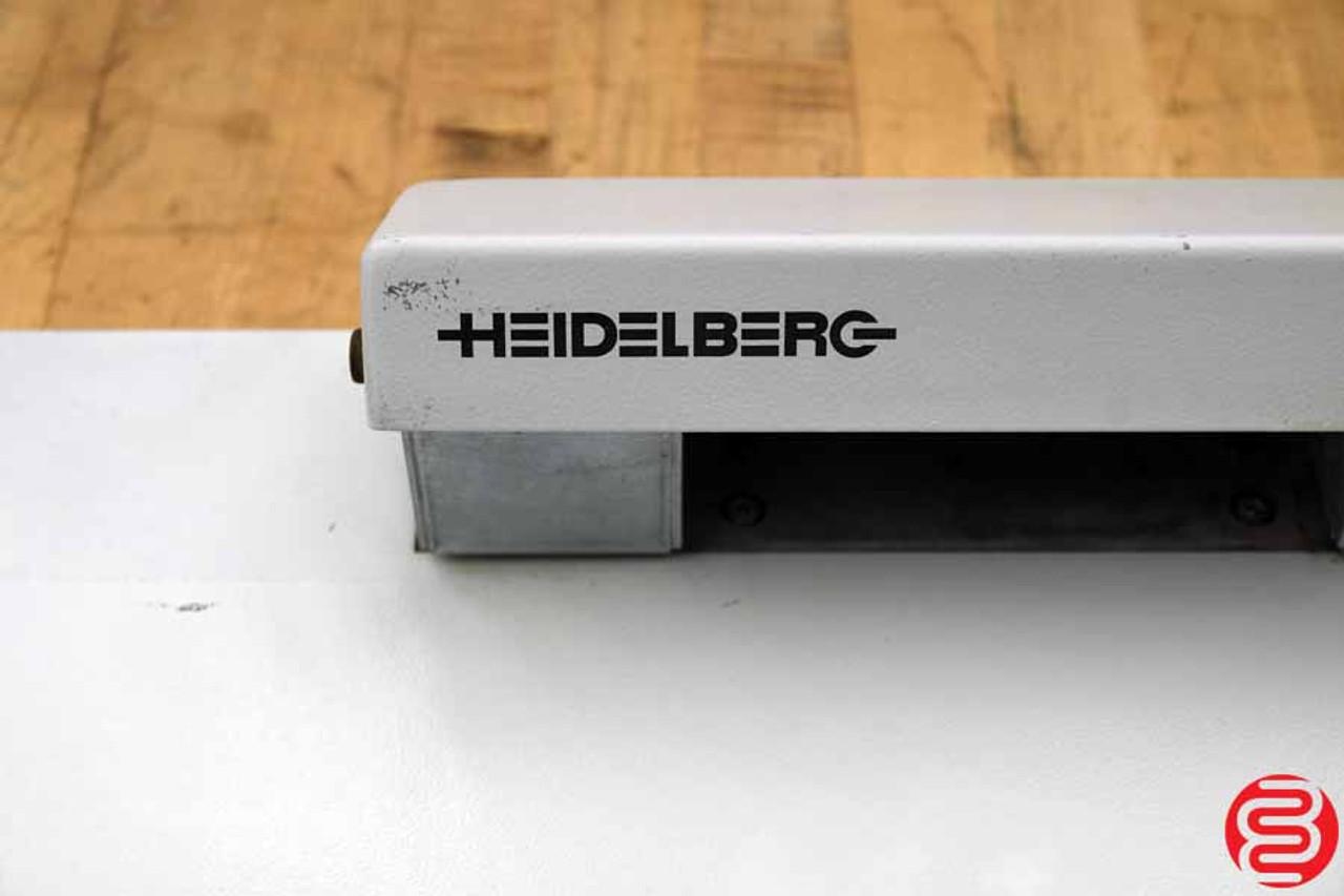 Heidelberg Plate Punch - 030720101805