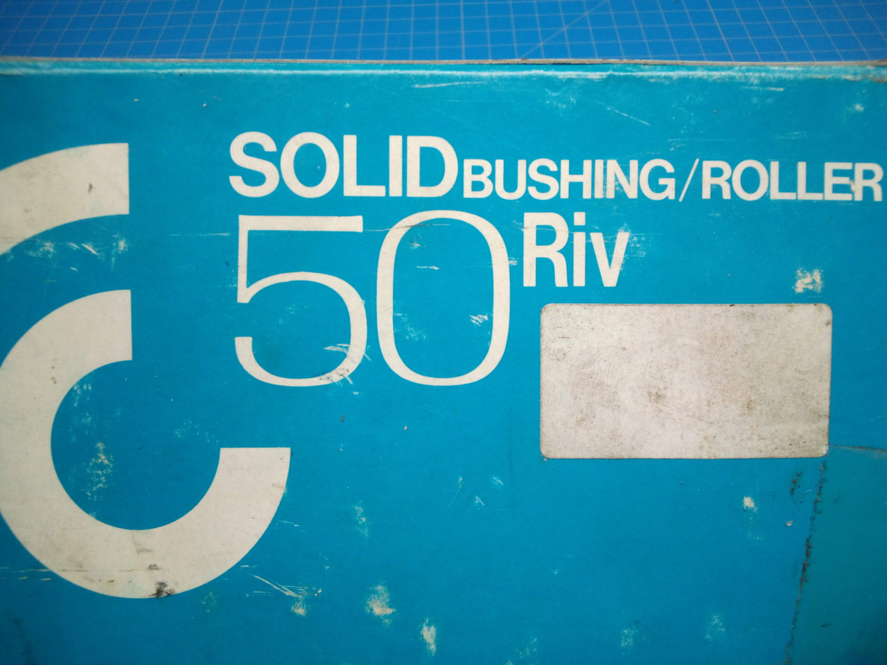HKK Chain Solid Brushing/Rolling #50 Roller Chain 10' - P02-000480
