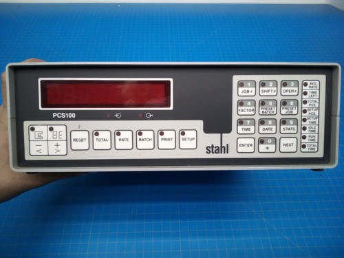 Stahl Controller PCS 100 Batch Counter Controller - P01-000076