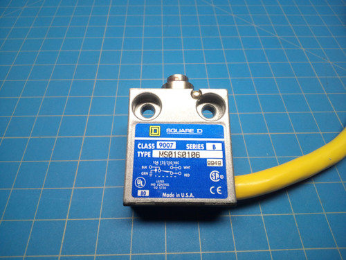 Square D 9007-MS01S0106 Compact Enclosed Limit Switch - P01-000100