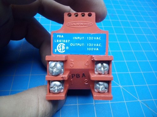 Banner 3 - And 4 - Wire Power Block 16384 - P01-000101