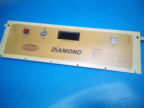 Challenge Diamond Cutter Control Panel - P02-000033