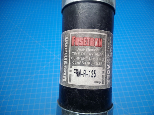 RK5 Dual Element Time Delay Fuse FRN-R-125 250V - P02-000081